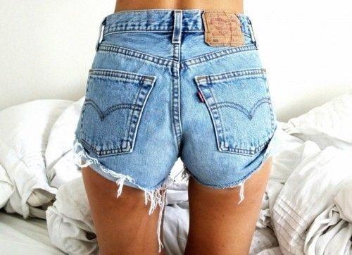 Levis Vintage Womens High Waisted Stone Wash Denim Shorts Size 8 10 12 14 16 | eBay