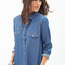 Western-inspired chambray shirt | forever 21 - 2000083730