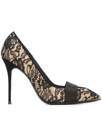 pumps lace nude shoes