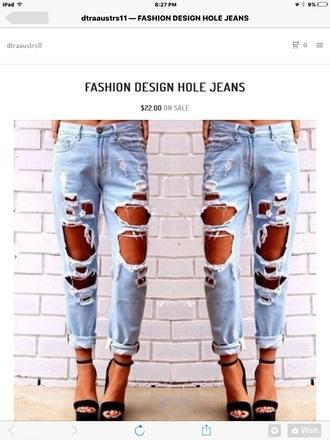 pants boyfriend jeans ripped jeans