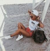 shirt,Californication,beach,emoji print,white,white t-shirt