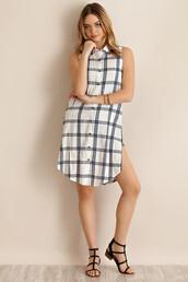 shirt,plaid shirt,plaid dress,check print