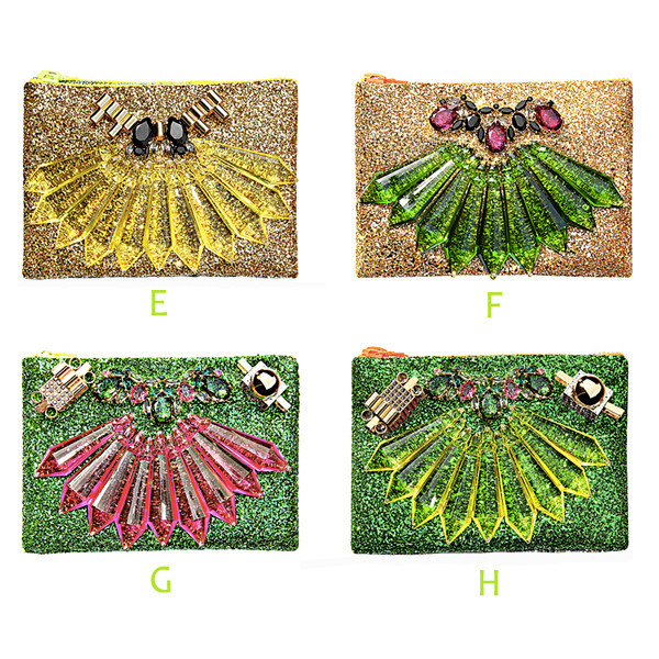 Bling bling clutch (14 colours)