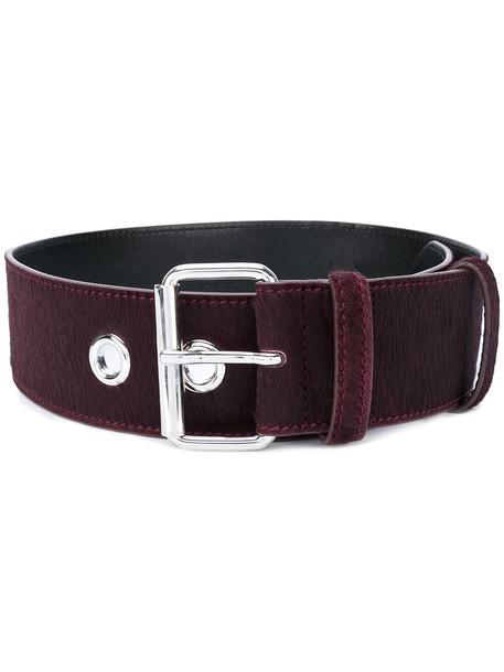 classic belt red