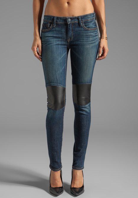 Textile Elizabeth And James Tommy Skinny With Leather Knee