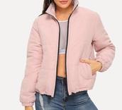 jacket,girly,girl,girly wishlist,pink,puffer jacket,suede