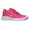 Nike free 5.0 - girls' grade school - running - shoes - fusion pink/total crimson/metallic silver