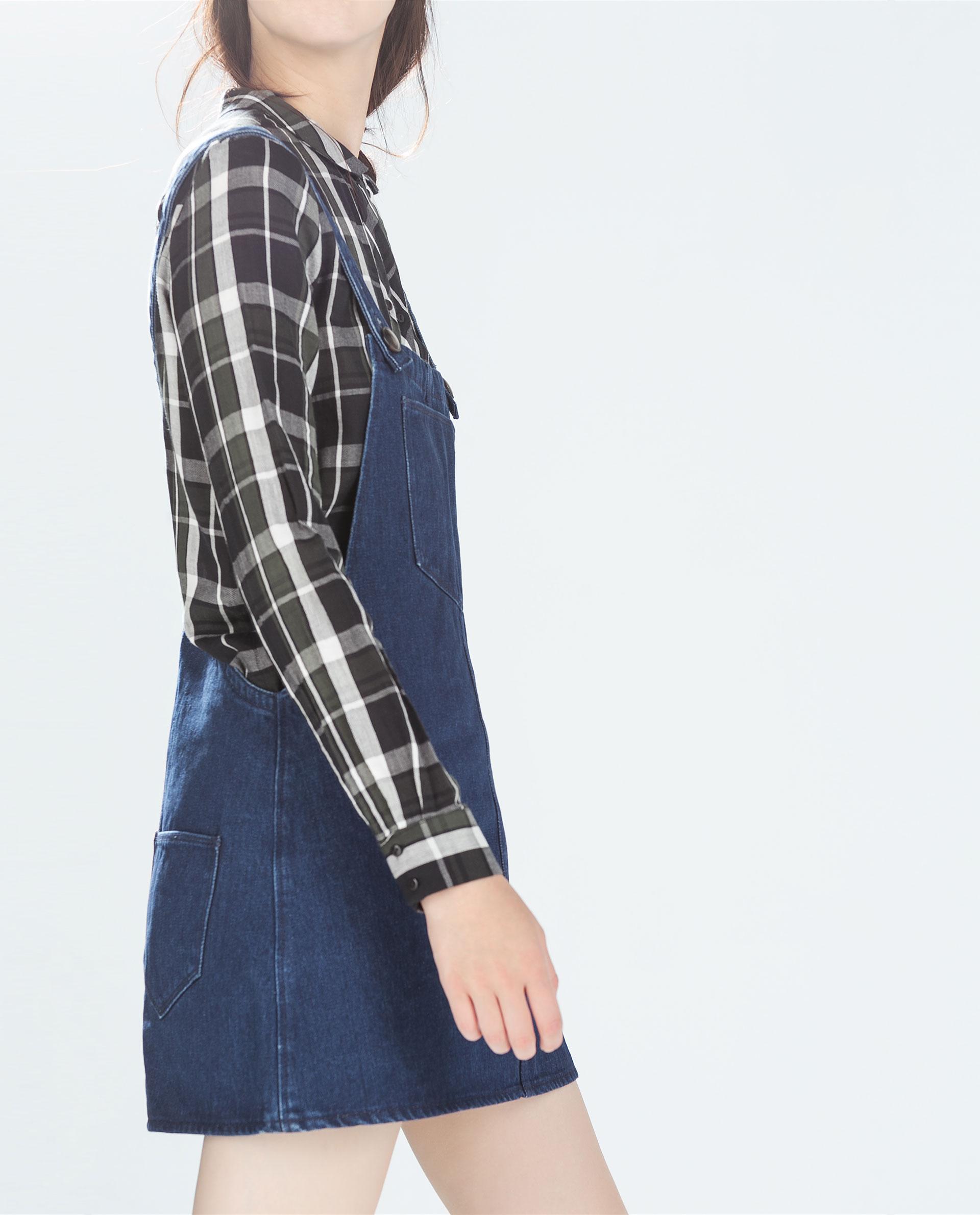 Creative Denim Jumper Dress Women  Oasis Amor Fashion