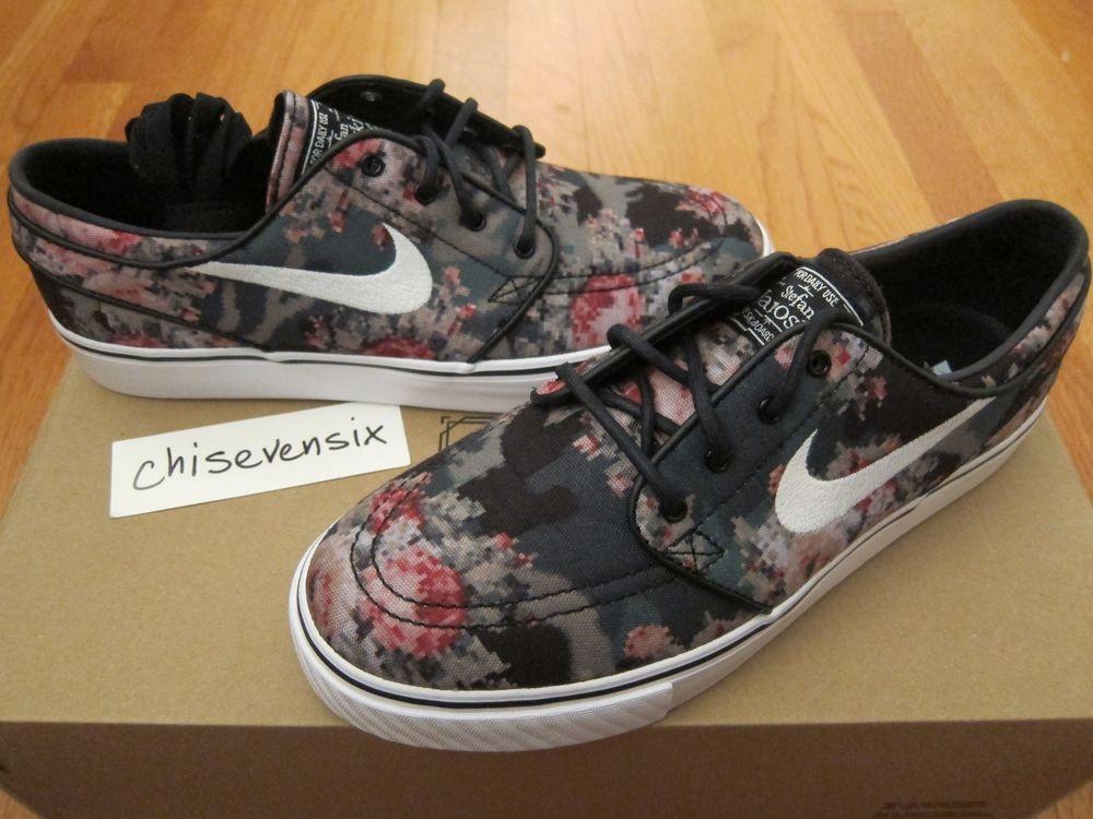 Nike SB Zoom Stefan Janoski Premium Digi Floral Camo Size 7 DS 482972 900 | eBay