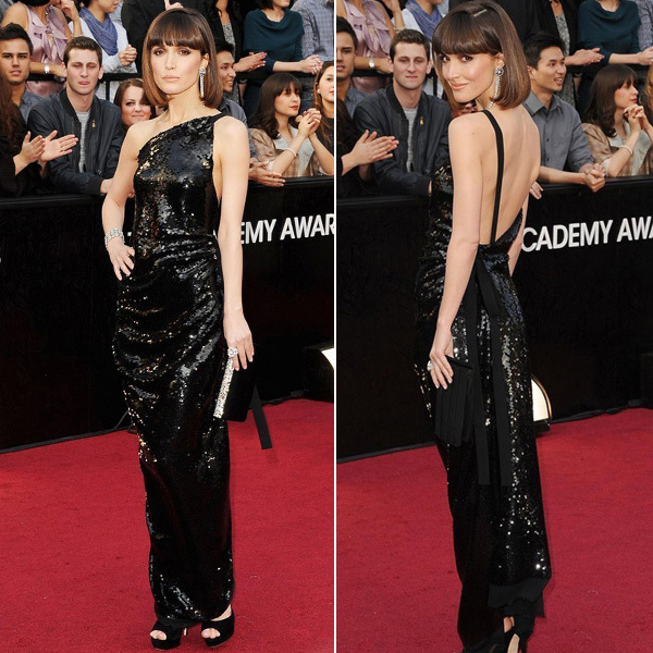 Aliexpress.com : buy rose byrne one shoulder sequins ankle length shiny evening celebrity dress sparkling open back formal dress backless from reliable dresses fashion suppliers on my classic garden