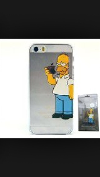 phone cover the simpsons homer simpson iphone iphone cover