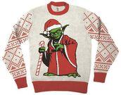sweater,ugly christmas sweater,christmas,christmas sweater,star wars,yoda
