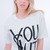 YSL You Slut Print Tee Tshirt (2 colors available) – Glamzelle