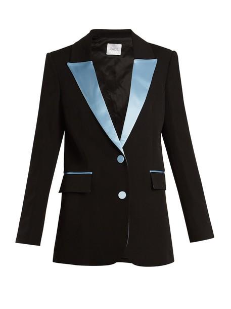 Racil blazer wool blue black jacket