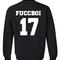 Fuccboi 17 sweatshirt back