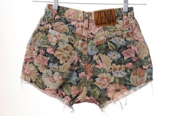 shorts floral short zena lee