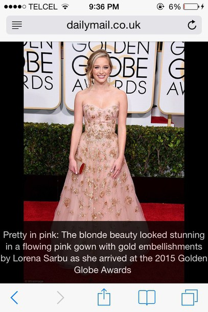 celebrity style Golden Globes 2015 gown dress