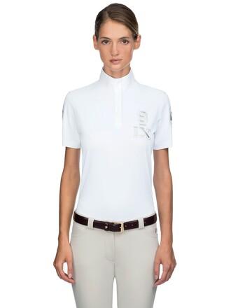 shirt polo shirt high white top