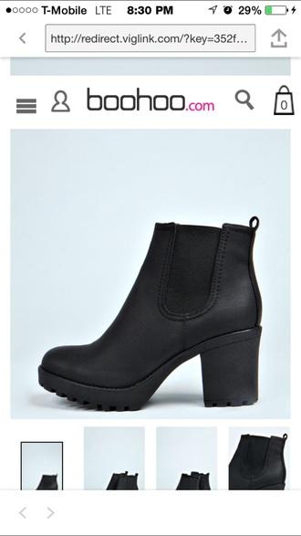 shoes black boots black booties grunge boho bohemian