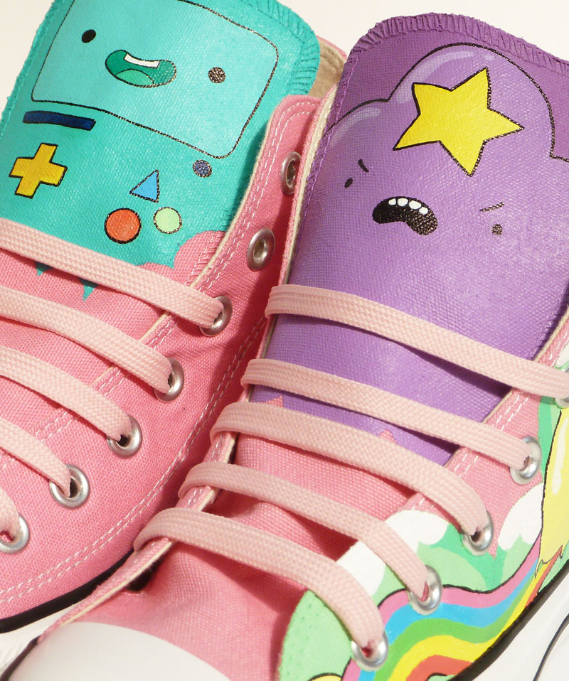 Pony Chops: Adventure Time High Tops