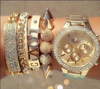 Gold Infinity Love Set - GLAMCITYINC