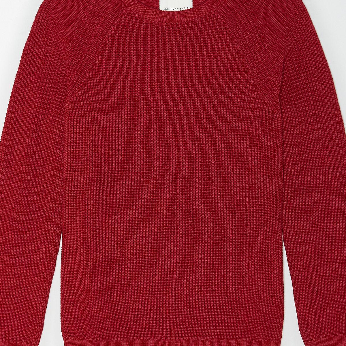 AEO Raglan Sleeve Crew Neck Sweater