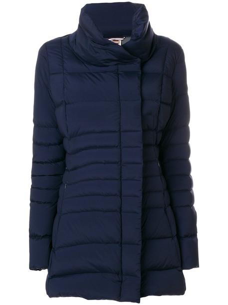 Colmar - Millennium padded coat - women - Feather Down/Polyamide/Spandex/Elastane - 46, Blue, Feather Down/Polyamide/Spandex/Elastane