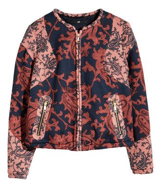 jacket embroidered embroidered jacket love pretty beautiful blazer hm hm.com h&m fashion fashion blogger spring spring jacket spring blazer ootd potd lookbook baroque