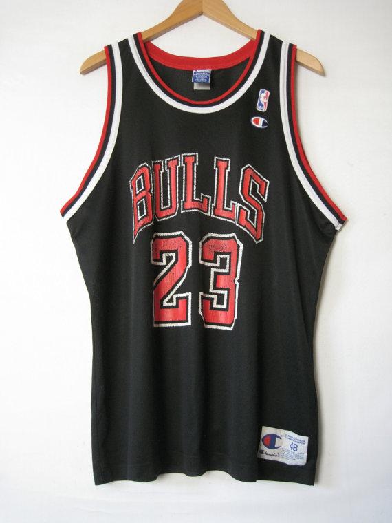 90er Jahre Chicago BULLS Jersey Tank Shirt Michael von TheSavvyBum