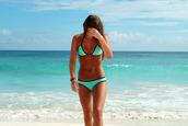 swimwear,turquoise,bikini,svimsuit,black