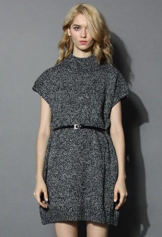 chicwish knit dress dress