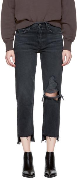 GRLFRND jeans black