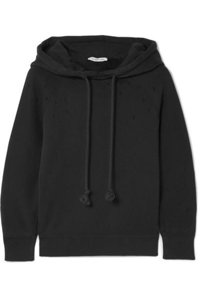 Helmut Lang sweatshirt cotton black sweater