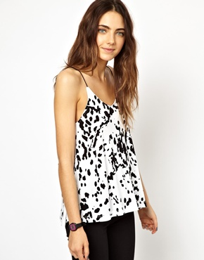ASOS | ASOS Cami Top in Dalmatian Print at ASOS