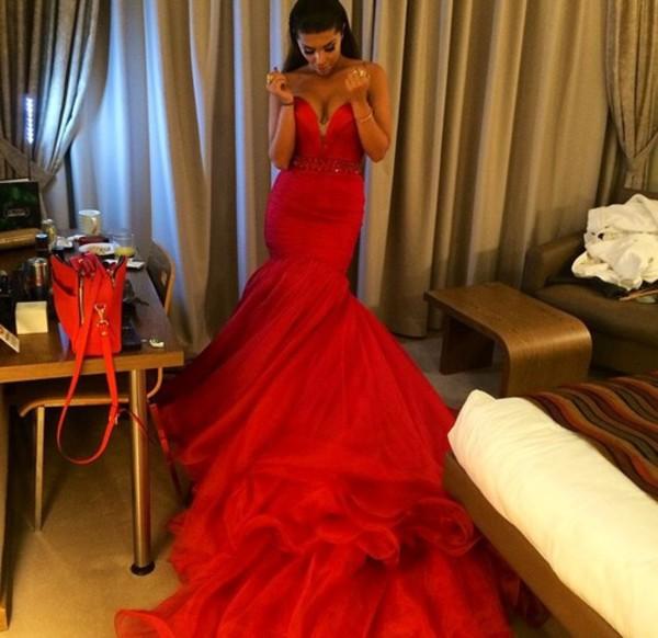 long dress classy red dress