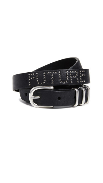 Rag & Bone Jet Belt in black