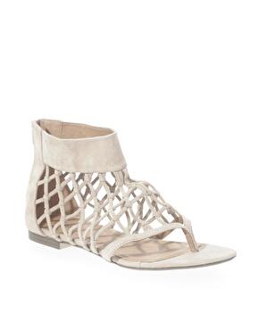 Oasis net gladiator sandals at asos