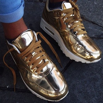 shoes nike gold