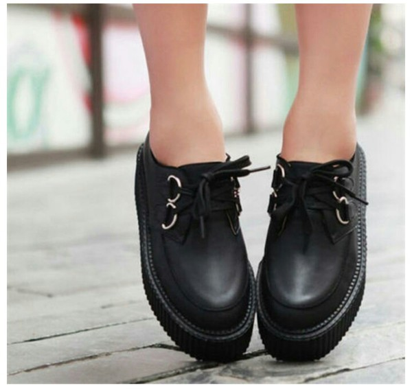 shoes creepers dolly shoes kawaii goth hipster goth shoes goth