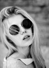 sunglasses,oval,ronde,lunette,beautiful,glasses,celebrity