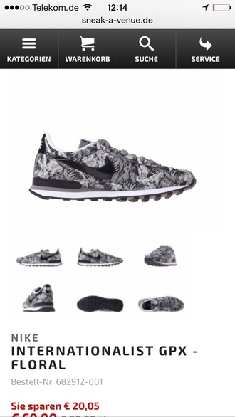 shoes nike internationalist