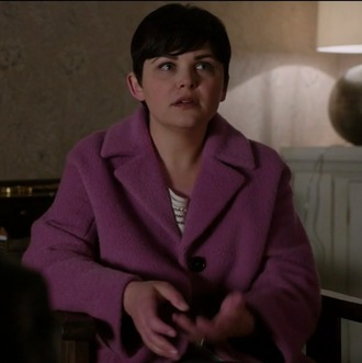 coat mary margaret blanchard ginnifer goodwin once upon a time show pink