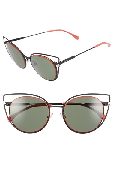Fendi 53mm Sunglasses | Nordstrom