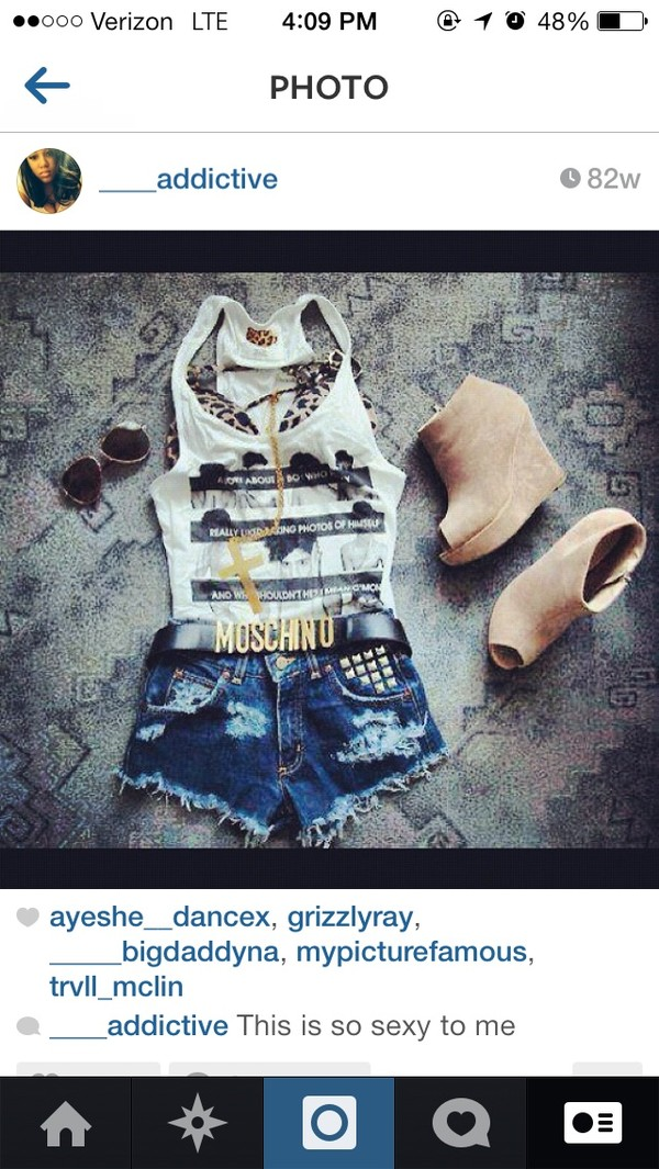 blouse moschino belt