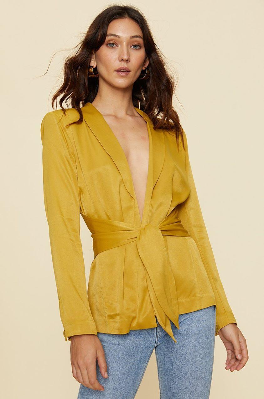 Marisa Jacket in Ochre