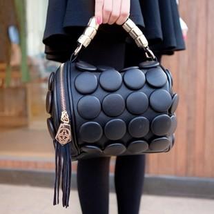 Aliexpress.com : Buy Free Shipping 2013 fashion buttons bag button handbag shoulder bag messenger bag bags from Reliable bag school suppliers on ED FASHION.