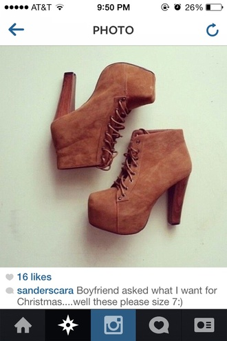 shoes brown suede bootie heels