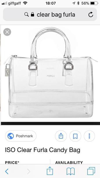 bag furla transparent  bag