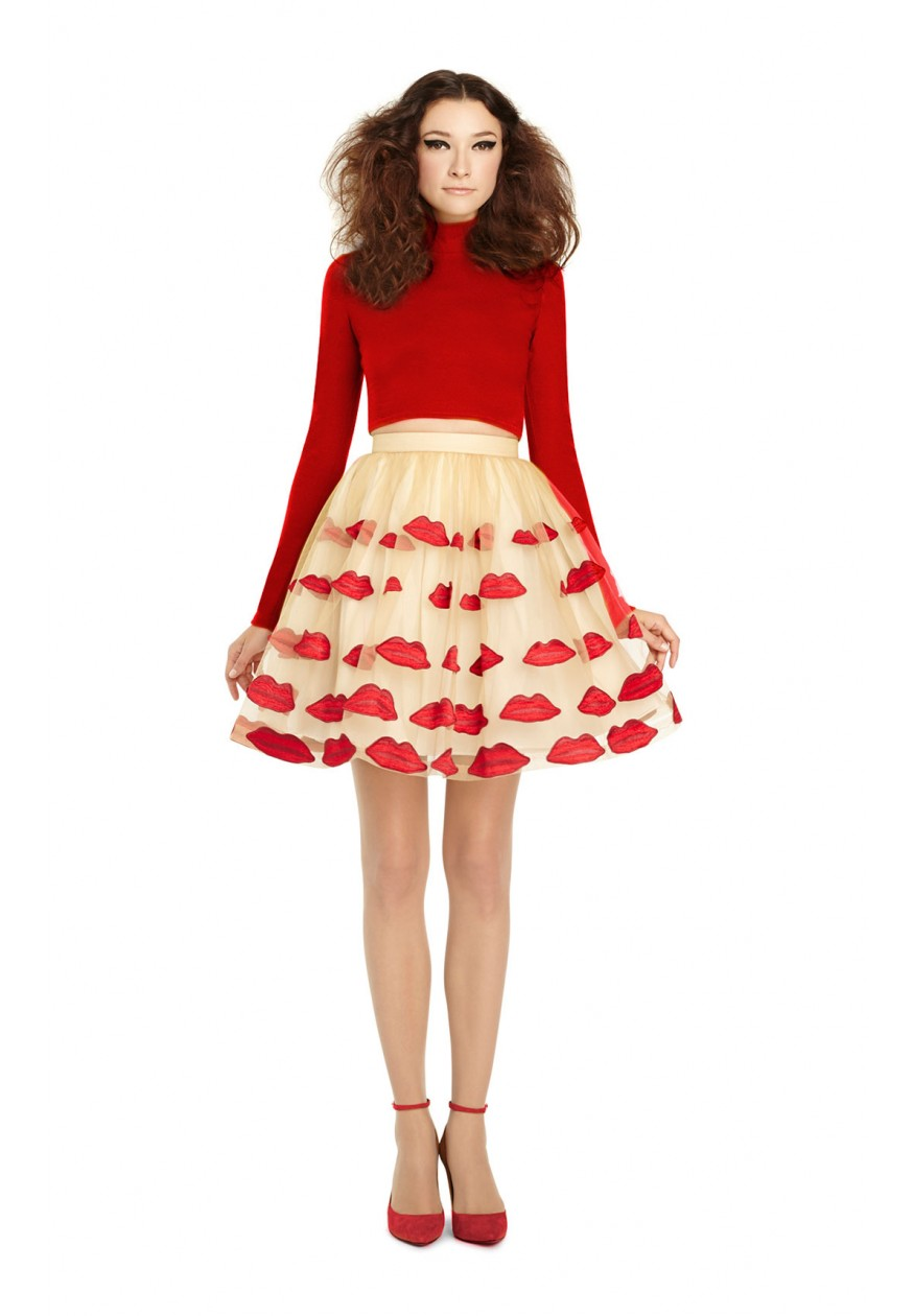 alice   olivia | POUT POOF SKIRT