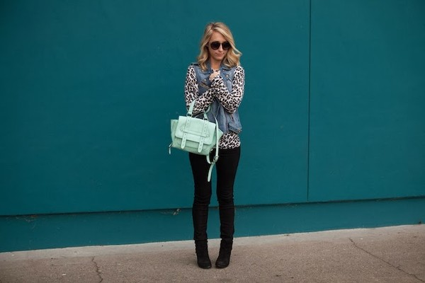 mint the blog sweater jacket shoes bag